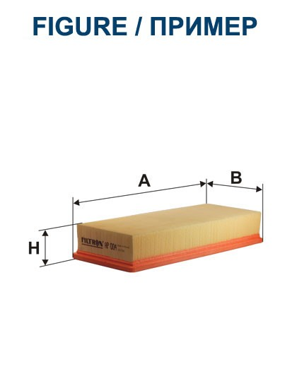 Filtr powietrza AP 070/2 [AP0702] FILTRON