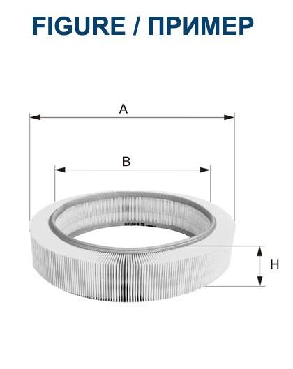 Filtr powietrza AR 001 [AR001] FILTRON