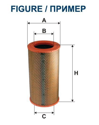 Filtr powietrza AR 285 [AR285] FILTRON