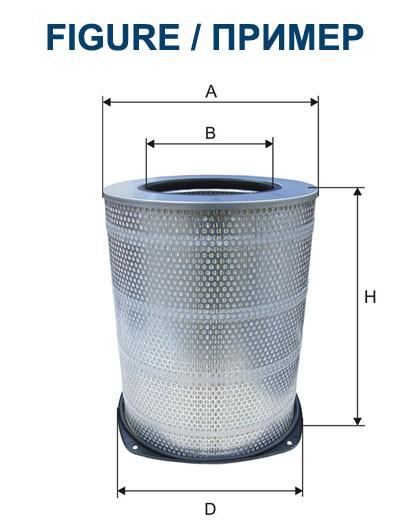 Filtr powietrza AM 442/1 [AM4421] FILTRON