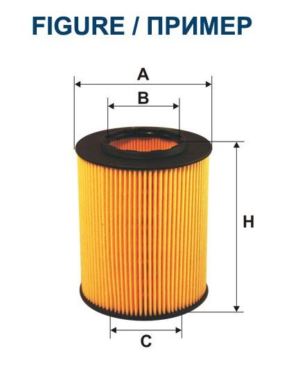 Filtr oleju OE 640/7 (OE6407) FILTRON