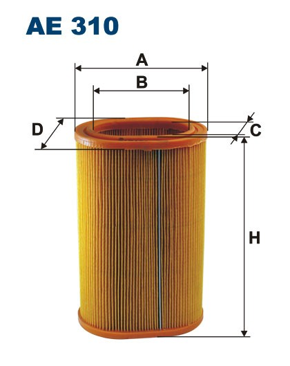 Filtr powietrza AE 310 (AE310) FILTRON
