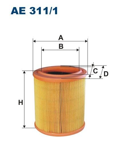 Filtr powietrza AE 311/1 (AE3111) FILTRON