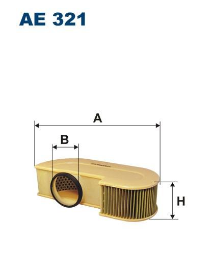 Filtr powietrza AE 321 (AE321) FILTRON