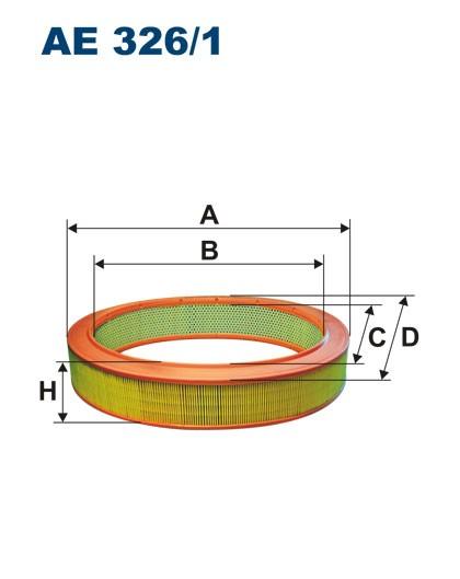 Filtr powietrza AE 326/1 (AE3261) FILTRON