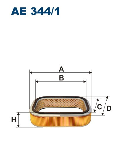 Filtr powietrza AE 344/1 (AE3441) FILTRON