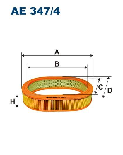 Filtr powietrza AE 347/4 (AE3474) FILTRON