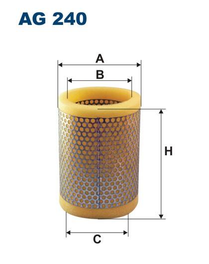 Filtr powietrza AG 240 (AG240) FILTRON