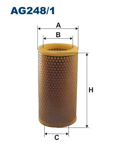 Filtr powietrza AG 248/1 (AG2481) FILTRON