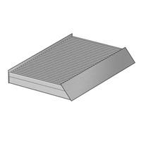 Filtr kabinowy AHC281 PURFLUX z węglem aktywnym