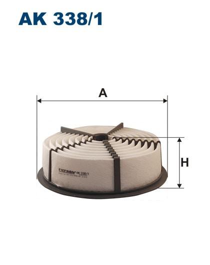 Filtr powietrza AK 338/1 (AK3381) FILTRON
