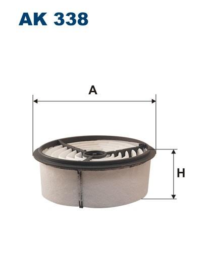 Filtr powietrza AK 338 (AK338) FILTRON
