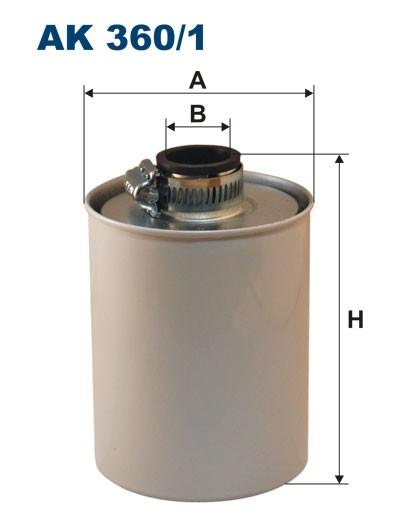 Filtr powietrza AK 360/1 (AK3601) FILTRON