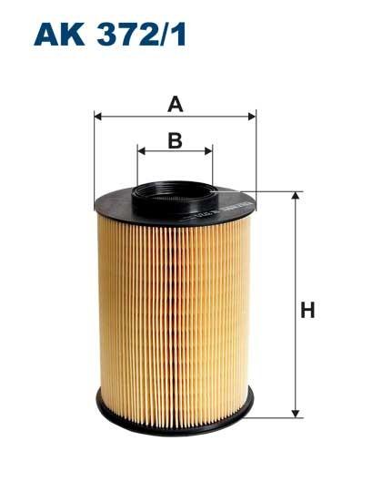 Filtr powietrza AK 372/1 (AK3721) FILTRON