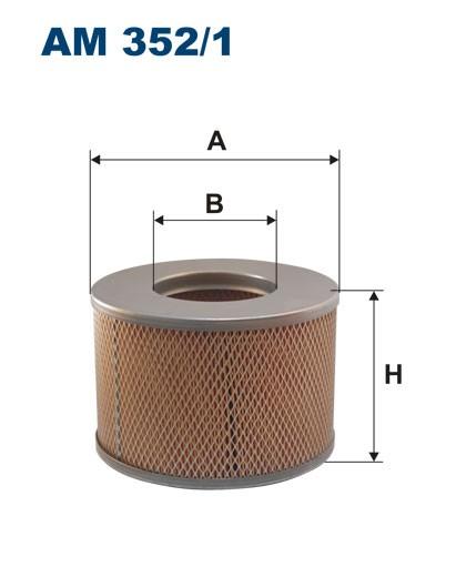 Filtr powietrza AM 352/1 [AM3521] FILTRON