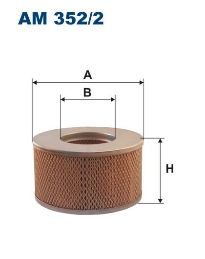 Filtr powietrza AM 352/2 [AM3522] FILTRON
