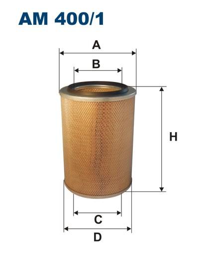 Filtr powietrza AM 400/1 [AM4001] FILTRON