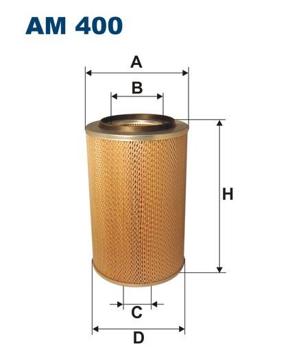 Filtr powietrza AM 400 [AM400] FILTRON