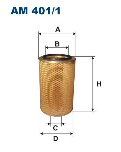 Filtr powietrza AM 401/1 [AM4011] FILTRON