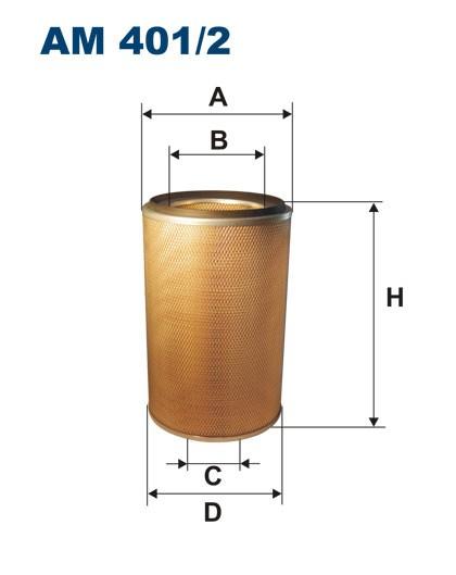 Filtr powietrza AM 401/2 [AM4012] FILTRON