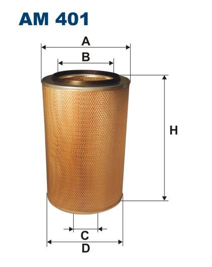 Filtr powietrza AM 401 [AM401] FILTRON