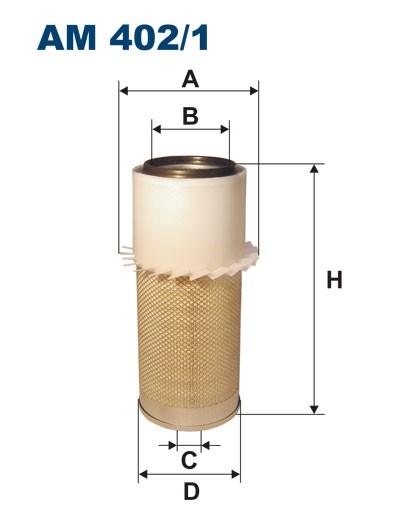 Filtr powietrza AM 402/1 [AM4021] FILTRON
