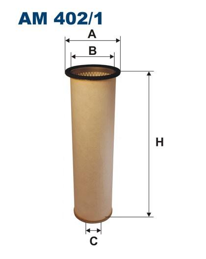 Filtr powietrza AM 402/1W [AM4021W] FILTRON