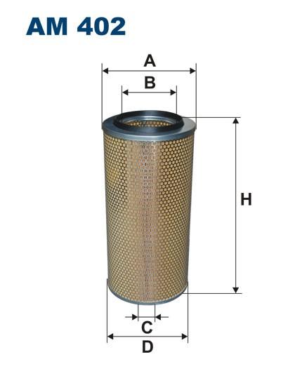 Filtr powietrza AM 402 [AM402] FILTRON