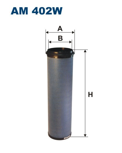 Filtr powietrza AM 402W [AM402W] FILTRON