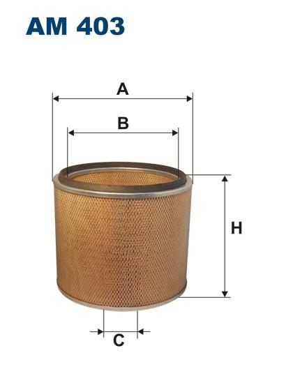 Filtr powietrza AM 403 [AM403] FILTRON