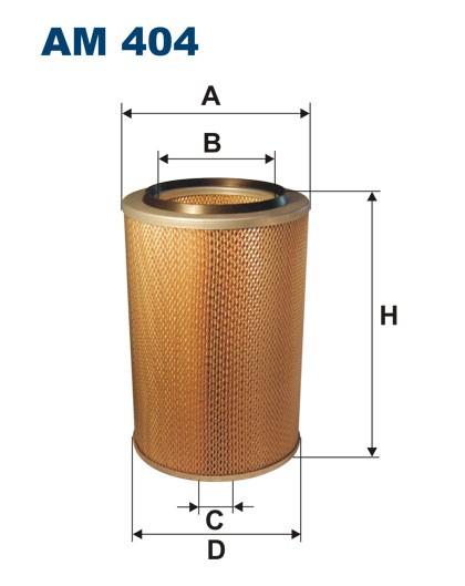 Filtr powietrza AM 404 [AM404] FILTRON