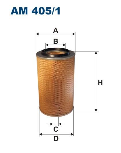 Filtr powietrza AM 405/1 [AM4051] FILTRON