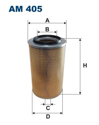 Filtr powietrza AM 405 [AM405] FILTRON