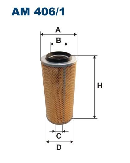 Filtr powietrza AM 406/1 [AM4061] FILTRON