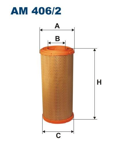 Filtr powietrza AM 406/2 [AM4062] FILTRON