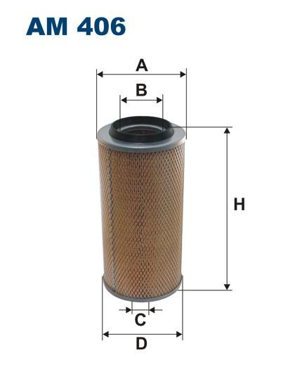 Filtr powietrza AM 406 [AM406] FILTRON