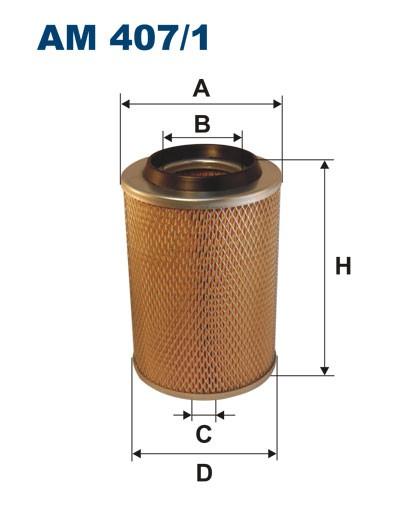 Filtr powietrza AM 407/1 [AM4071] FILTRON