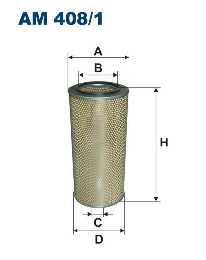Filtr powietrza AM 408/1 [AM4081] FILTRON
