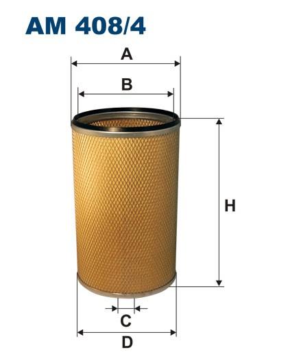 Filtr powietrza AM 408/4 [AM4084] FILTRON