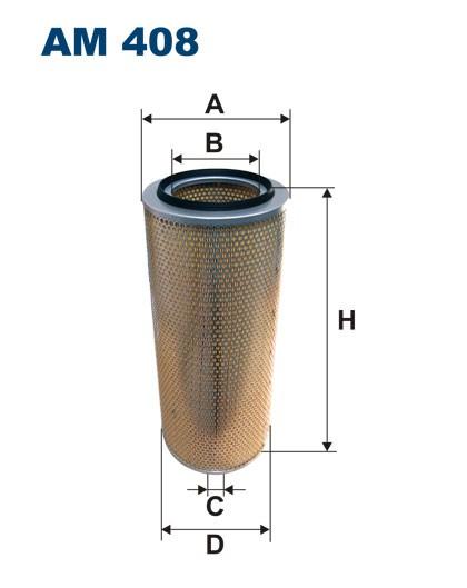 Filtr powietrza AM 408 [AM408] FILTRON
