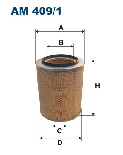 Filtr powietrza AM 409/1 [AM4091] FILTRON