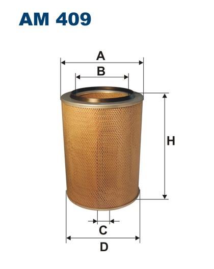 Filtr powietrza AM 409 [AM409] FILTRON