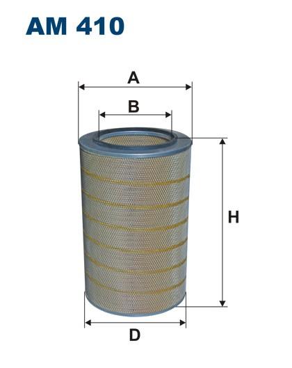 Filtr powietrza AM 410 [AM410] FILTRON