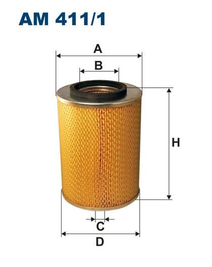 Filtr powietrza AM 411/1 [AM4111] FILTRON
