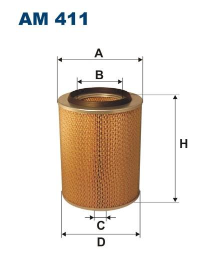 Filtr powietrza AM 411 FILTRON [AM411]