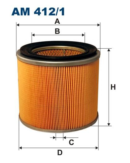 Filtr powietrza AM 412/1 [AM4121] FILTRON