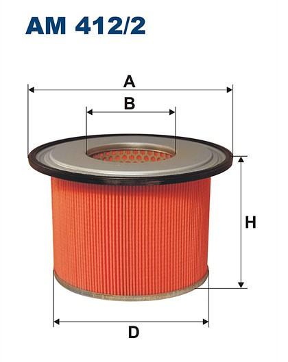 Filtr powietrza AM 412/2 [AM4122] FILTRON