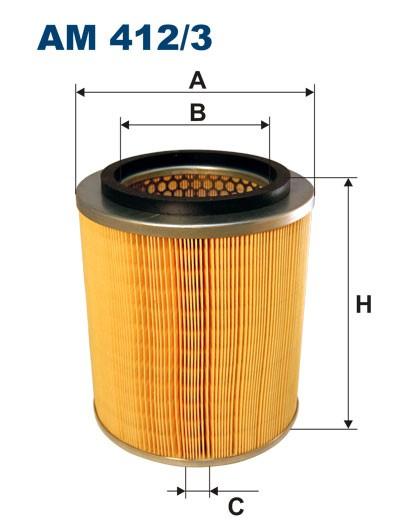Filtr powietrza AM 412/3 [AM4123] FILTRON