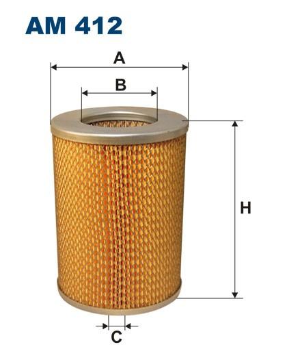 Filtr powietrza AM 412 [AM412] FILTRON