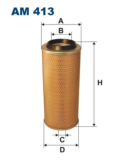 Filtr powietrza AM 413 FILTRON [AM413]